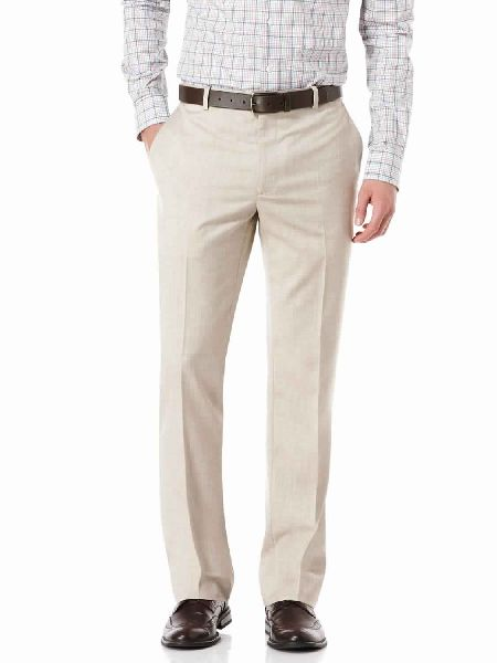 FLAT FRONT FORMAL TEXTURED PANTS