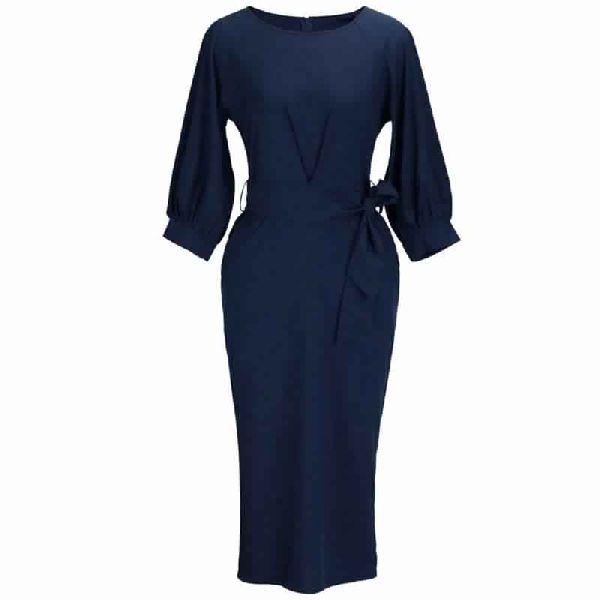 WOMENS BODYCON PENCIL SLIM PARTY DRESSES
