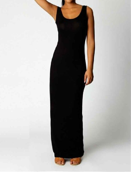 WOMENS CASUAL SHAPED COTTON LONG DRESSES