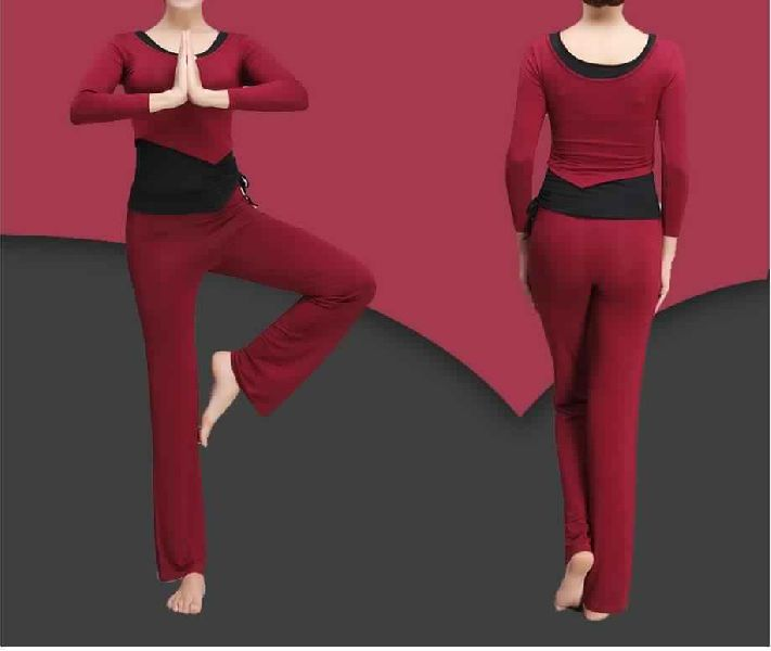 WOMENS SOFT SKIN MODAL FITNESS SUIT SETS