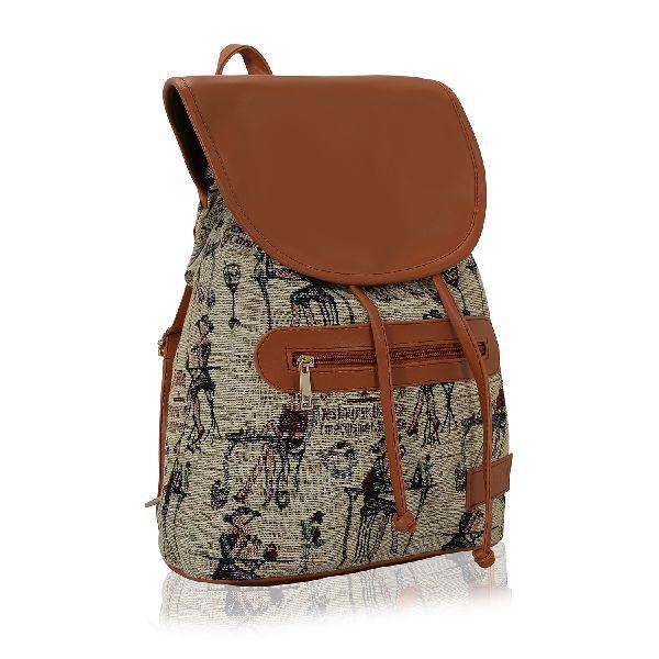 KLEIO Ladies Casual Spacious Backpack Hand Bag
