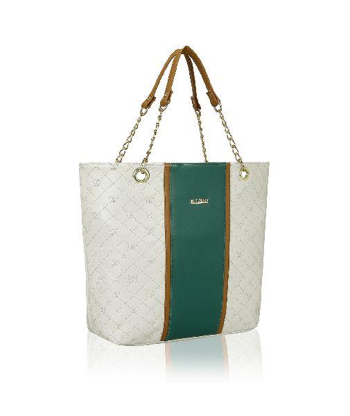 KLEIO Stylish Quilted Zip Ladies Tote Handbag