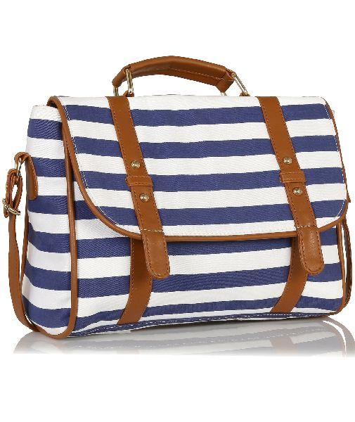 KLEIO Unisex Trendsetter Satchel Handbag (EDK1012KL-BU)