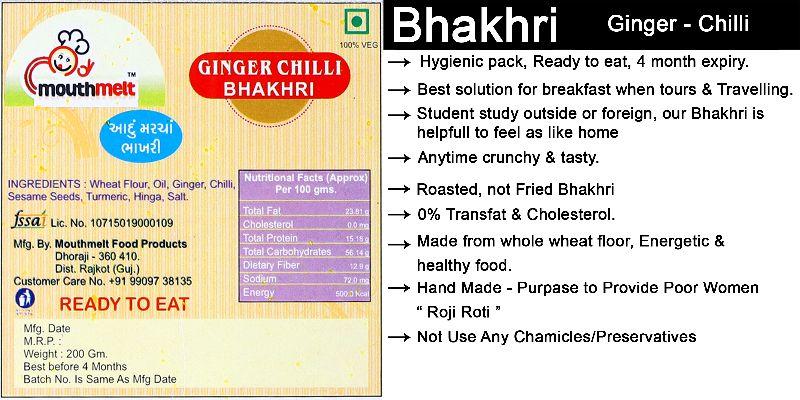 Ready To Eat Bhakhri Manufacturer in Dhoraji Gujarat India