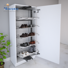 Cabinet Shoe Rack Pull Out