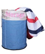 Jute Laundry Basket cum storage bag