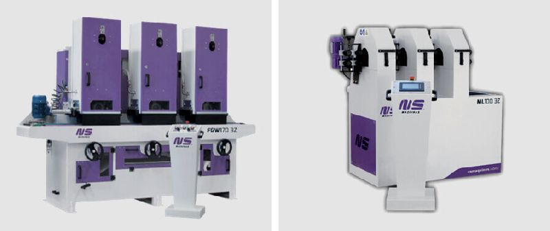METAL FINISHING & POLISHING MACHINES