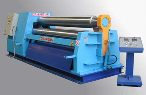ROLL DOUBLE PINCH PYRAMID PLATE ROLLING MACHINES