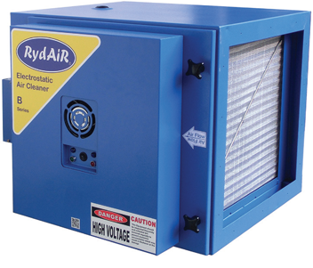 MODULAR INDUSTRIAL ELECTROSTATIC AIR CLEANERS