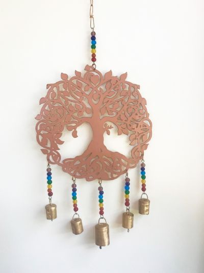 Tree of Life Iron Wind Chime