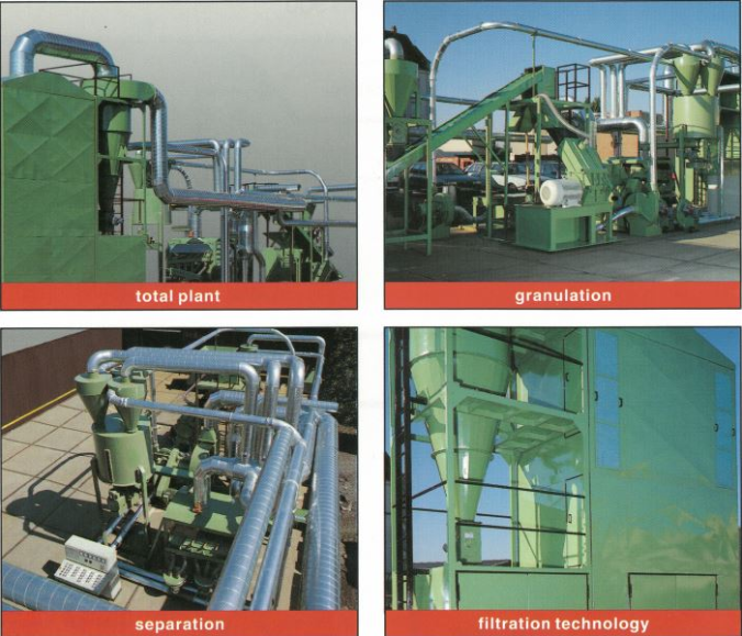 copper recycling plant (VECRP)