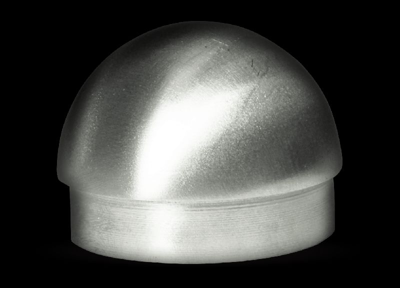 Stainless Steel Dome End Cap