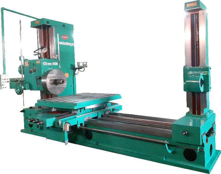Horizontal Boring & Milling Machine 125mm