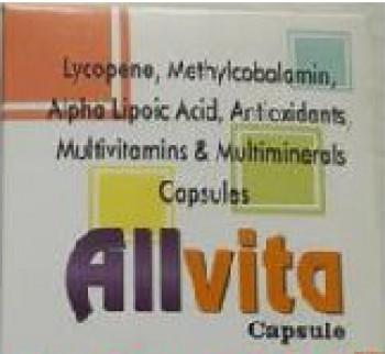 Allvita Capsule Manufacturer in Tiruchirapalli Tamil Nadu India by