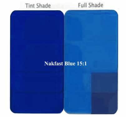 Pigment Blue for Plastic