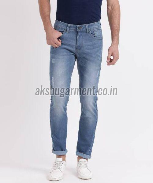 Mens High Waisted Jeans