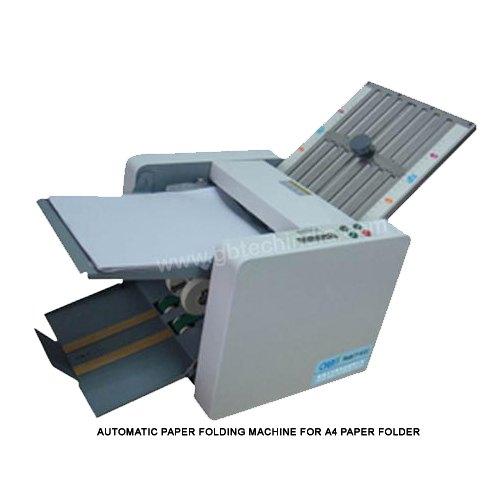 A-4 Automatic Desktop Paper Folding Machine GBT 402c