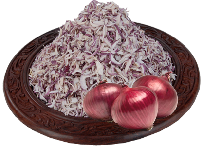 Dehydrated Red Onion
