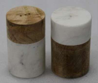 Marble Salt and Pepper Shaker
