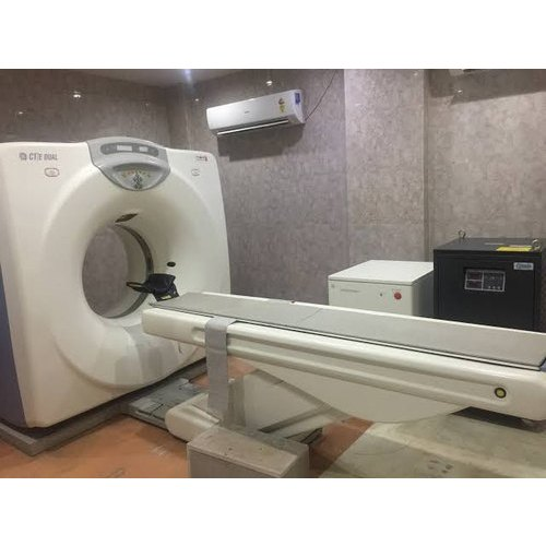 GE Dual CT Scanner Machine