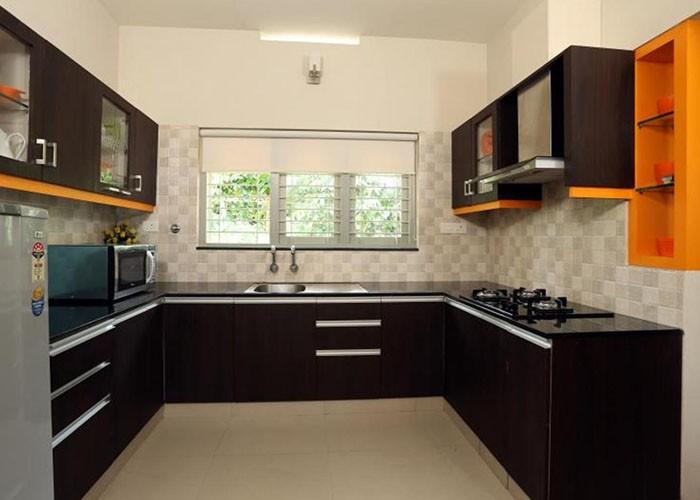 U Shaped Modular Kitchen Manufacturer in Delhi India by ...