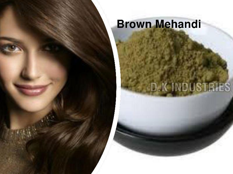 Wholesale 2017 New Design Brown Henna Hair Dye (DKI663)