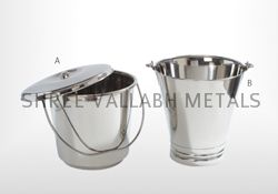 Stainless Steel Bucket (SVM - 101504)