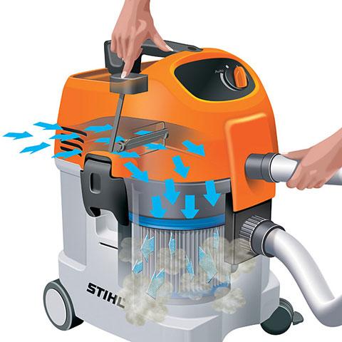 SE 122 Wet Vacuum Cleaner