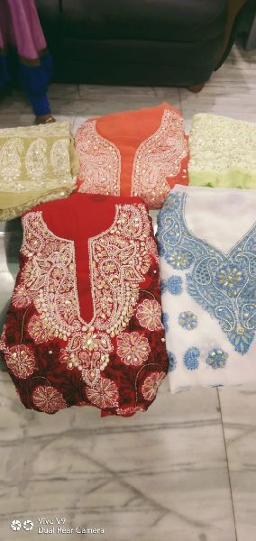 Unstitched Beaded Suits