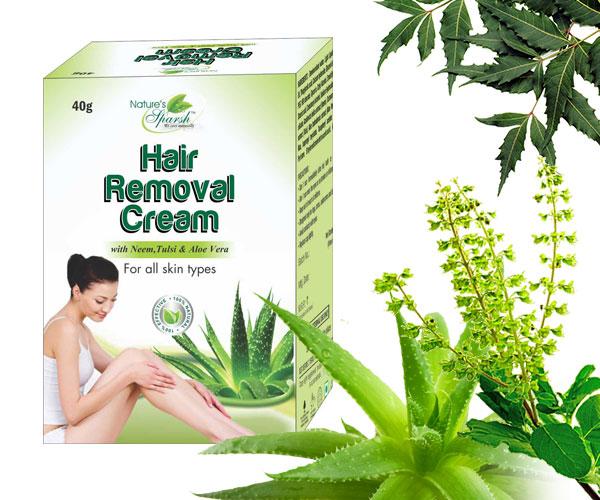 Nature's Sparsh Hair Removal Cream with Neem Tulsi & Aloe Vera