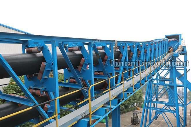 Pipe Conveyor System