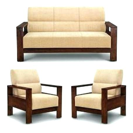 Solid Wooden Sofa
