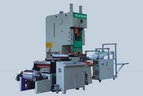 Automatic Aluminum Foil Container Making Machine