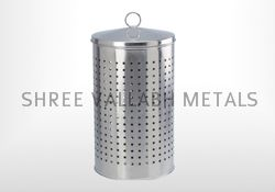 Stainless Steel Laundry Basket (SVM - 202314)