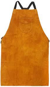 leather welding apron