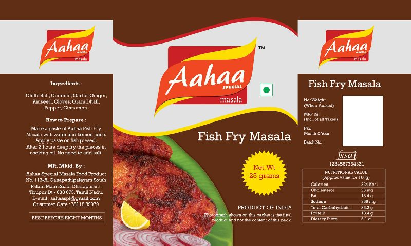 Fish Fry Masal Powder (ASM1005)