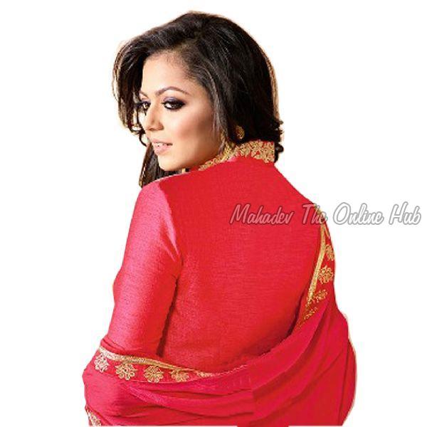 Anarkali Salwar Suits F1171 Pink