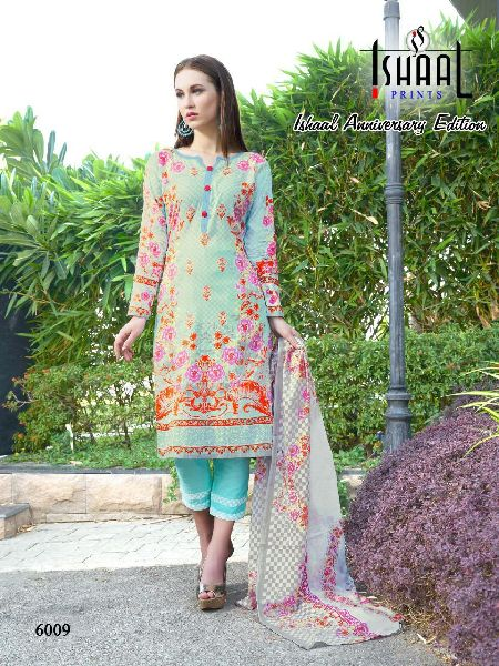 Printed Cotton Dress Material
