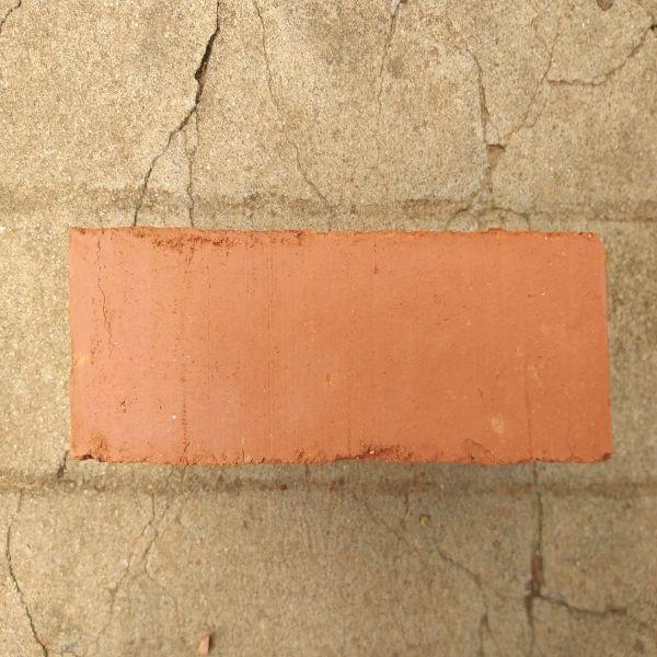 Construction Wire Cut Red Bricks