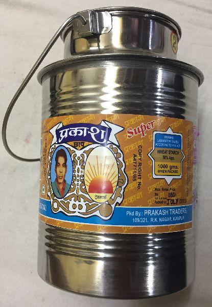 500gm Prakash Bandhani Hing Steel Box