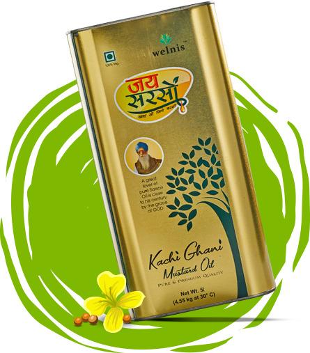 Jai Sarson Kachi Ghani Mustard Oil