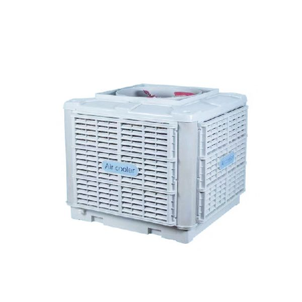 Evaporative air water cooler roof mounted / Water cooler air conditioner