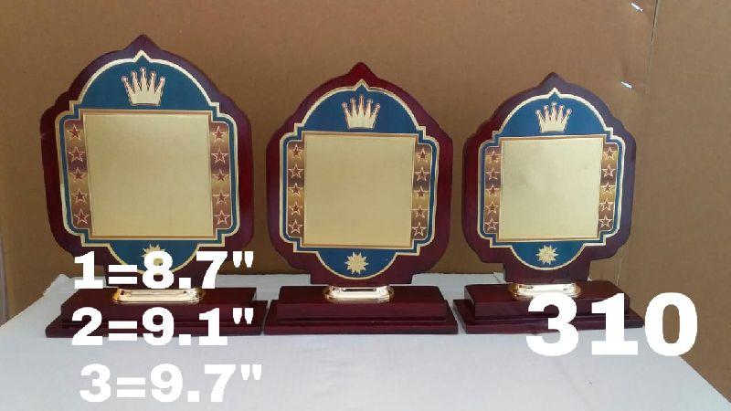 Custom Wooden Trophy
