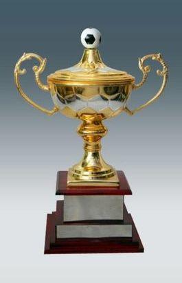 Metal Football Trophy