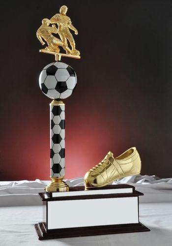 Wooden Football Trophy