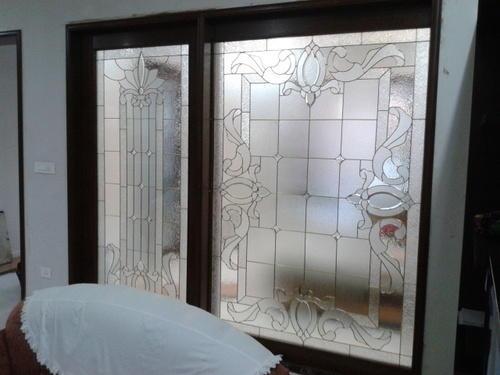 Decorative Premium Glass Door