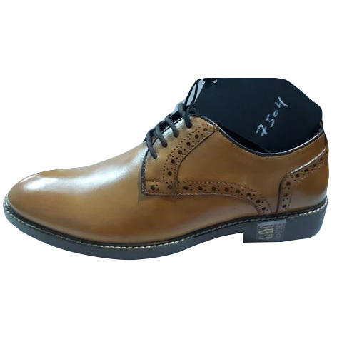Brown Mens Leather Formal Shoes