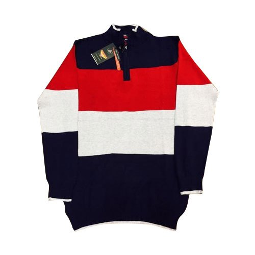 Mens Collar Sweater