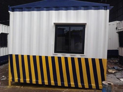 Steel Portable Security Cabin