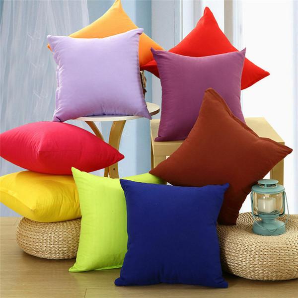 Plain Cushion Cover